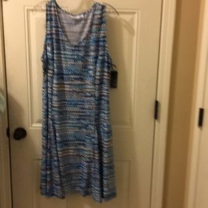 Kim Rogers dress CL new w tag wide skirt
